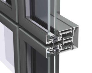 Алюминиевый фасадный профиль Москва